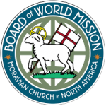 The Moravian Board of World Mission logo