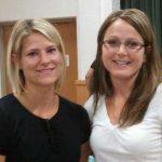 photos of Mia Wollin and Heidi Wendorf